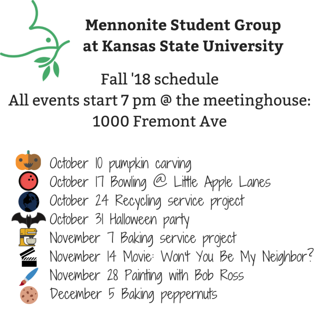 MMC YA schedule
